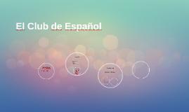 Bienvenidos al Club de Español