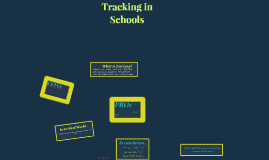 Copy of Tracking in Schools