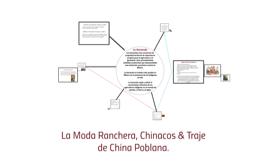 La Moda Ranchera, chinacos y China Poblana