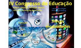 Congresso de Educação -PG- BRASIL 2016