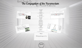 The Conjugation of the Paramecium