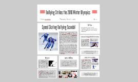 Bullying Strikes the 2018 Winter Olympics