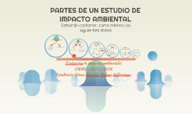 PARTES DE UN ESTUDIO DE IMPACTO AMBIENTAL