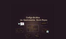 Copy of Codigo de etica