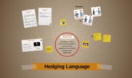 Hedging Language