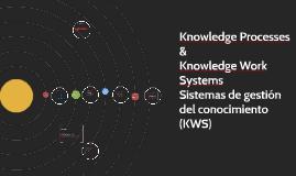 Copy of Sistemas de gestión del conocimiento (KWS)