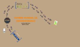 Copy of Cumbre Mundial de Johannesburgo