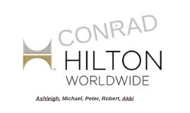 Conrad Hilton - Leadership
