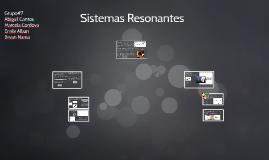 Sistemas Resonantes