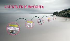 Copy of SUSTENTACION DE MONOGRAFIA