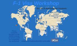 iSTART: F-1 Visa Workshop