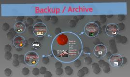 Backup / Archive
