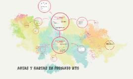 Copy of Actas y cartas en NTC 1486