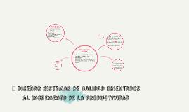 Copy of Diseño del sistema de calidad