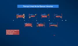 Tiempo Linear de las Epocas Literarias