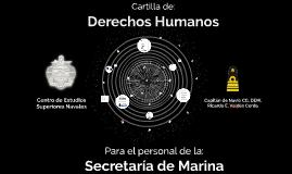 Cartilla de Derechos Humanos