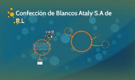Confección de Blancos Ataly S.A de R.L