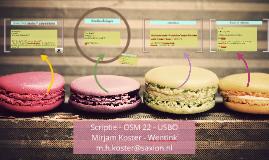 Scriptie - OSM 22 -