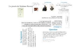 Le procès de Madame Bovary