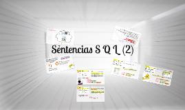 Sentencias S Q L (II)