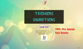 Copy of TECNICAS DIDACTICAS