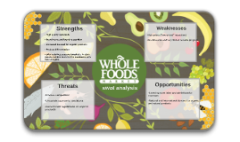 analysis of whole foods Whole foods: balancing social mission and growth case solution,whole foods: balancing social mission and growth case analysis, whole foods: balancing social mission and growth case study solution, in 2009, whole foods.