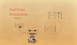 Deaf Event Presentation