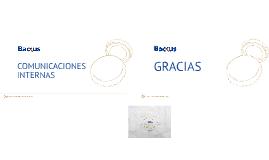 Comunicaciones Internas - DIC 2013