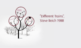 """Different Trains"","