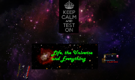 Ferguson - Life, The Universe, and Everything - The BIG Questions!