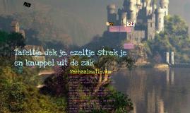 NL sprookjes opdracht