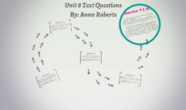 Unit 8 Text Questions