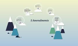 5 Amendments