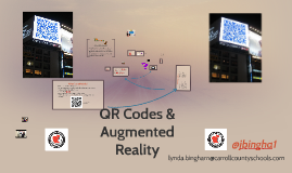 Copy of QR Codes & Augmented Reality