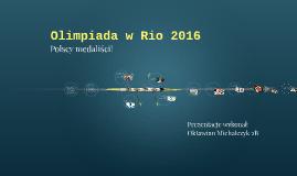 Olimpiada w Rio 2016