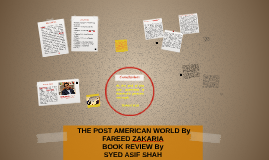 Copy of  THE POST AMERICAN WORLD By FAREED ZAKARIA