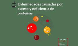 Copy of Enfermedades causadas por exceso y deficienca de proteínas