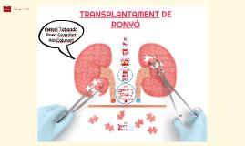 TRANSPLANTAMENT DE RONYÓ