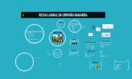 Copy of Riesgo Laboral en Compañia Bananera