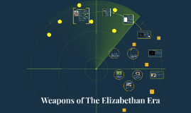 Copy of Weapons of The Elizabethan Era