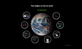 The Origins of Life on Earth: Biology