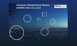 Programa Prevención de Riesgos