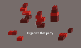 Organize that party