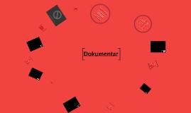 Dokumentargenrer - 1z - 2018