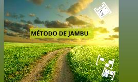 MÉTODO DE JANBU