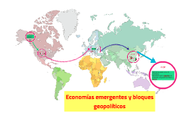 Copy of Economías emergentes y bloques geopoliticos