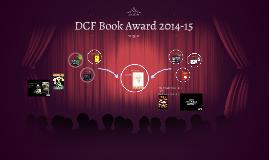 DCF Book Award 2014-15