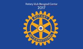 Rotary club Beograd Centar