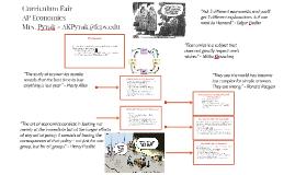 Curriculum Fair: AP Economics