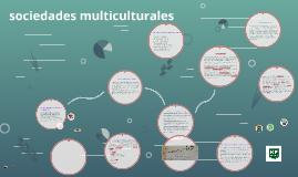 sociedades multiculturales